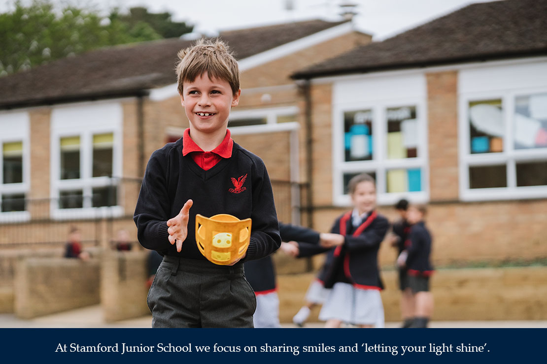 At Stamford Junior School we focus on sharing smiles