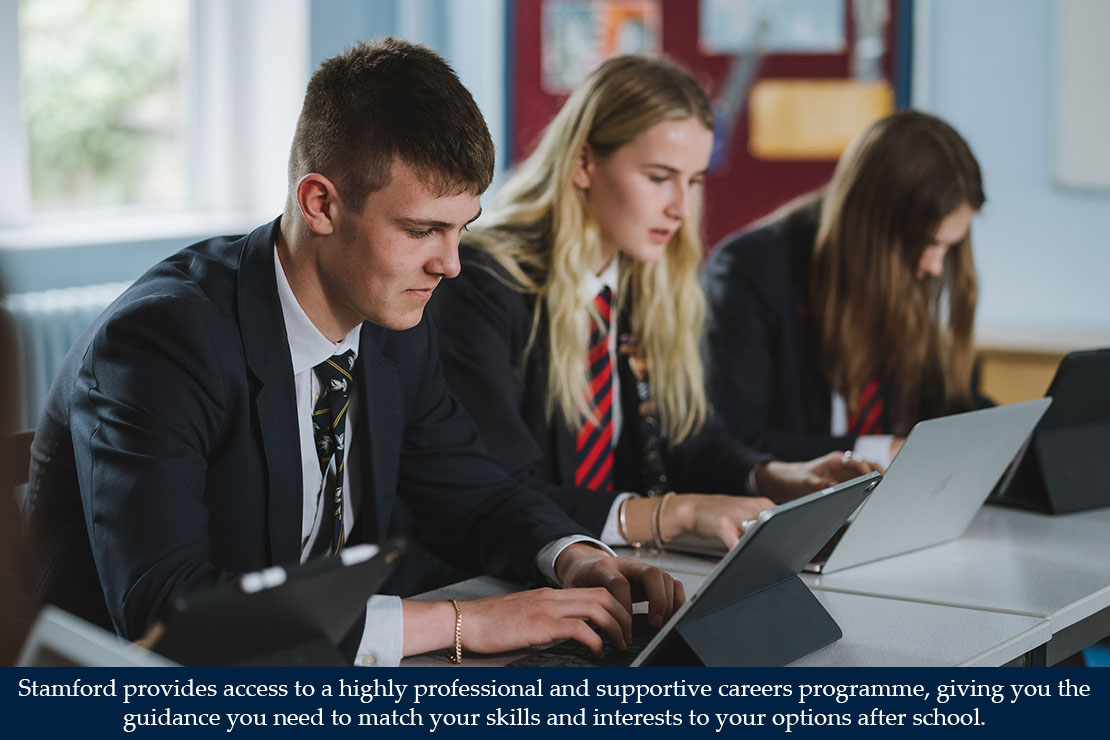 Stamford provides access to a highly professional and supportive environment