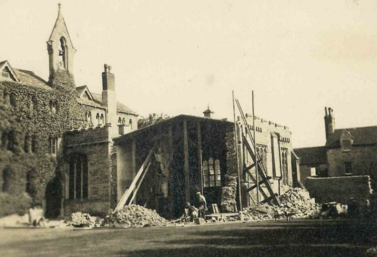 construction works to the SS Chapel
