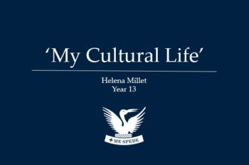 'My Cultural Life' - Helena Millet