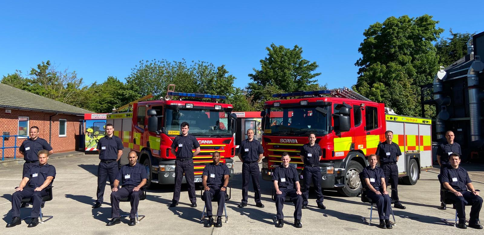 Old Stamfordian Fundraises for The Fire Fighters Charity