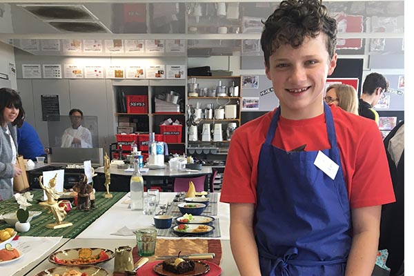 George W - Rotary Young Chef Competition - district final