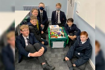 Student donations support foodbank