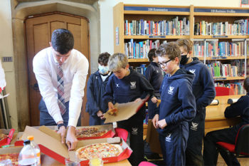 Reading Passport Pizza Party