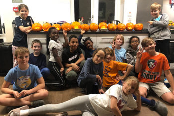 Spooky Celebrations in the Boarding Houses!