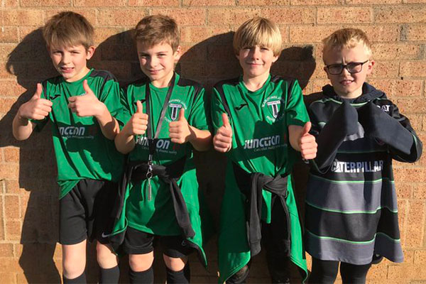 Sporting Success: Peterborough Blues Selection at the Junior School