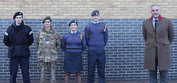 Celebration of Achievement in the Combined Cadet Force