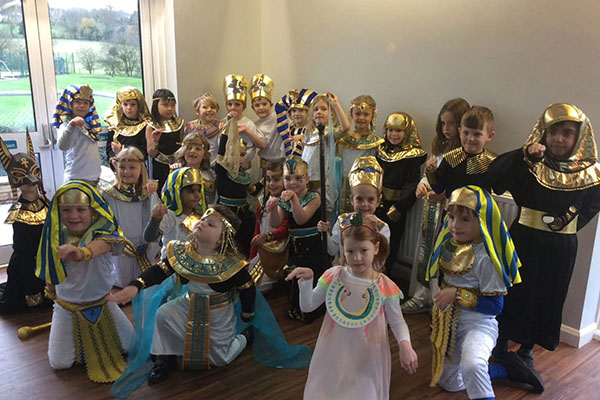 Egyptian Day at Stamford Junior School