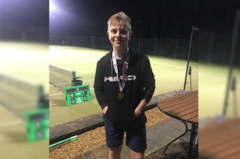 Continued Success for Chase on the Tennis Court