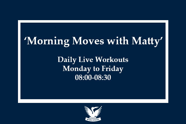 Join in with 'Morning Moves with Matty'