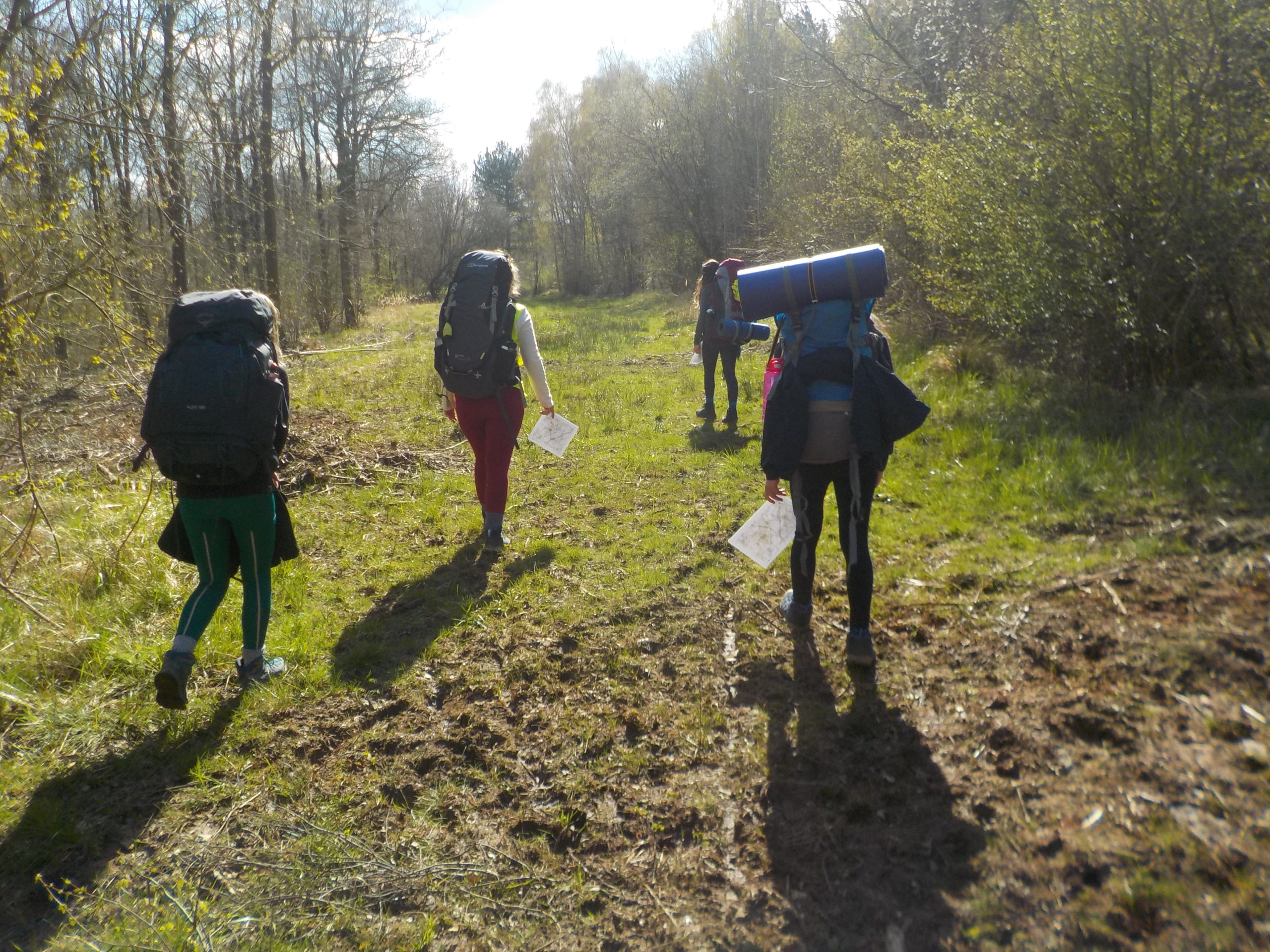 DofE continues over Easter