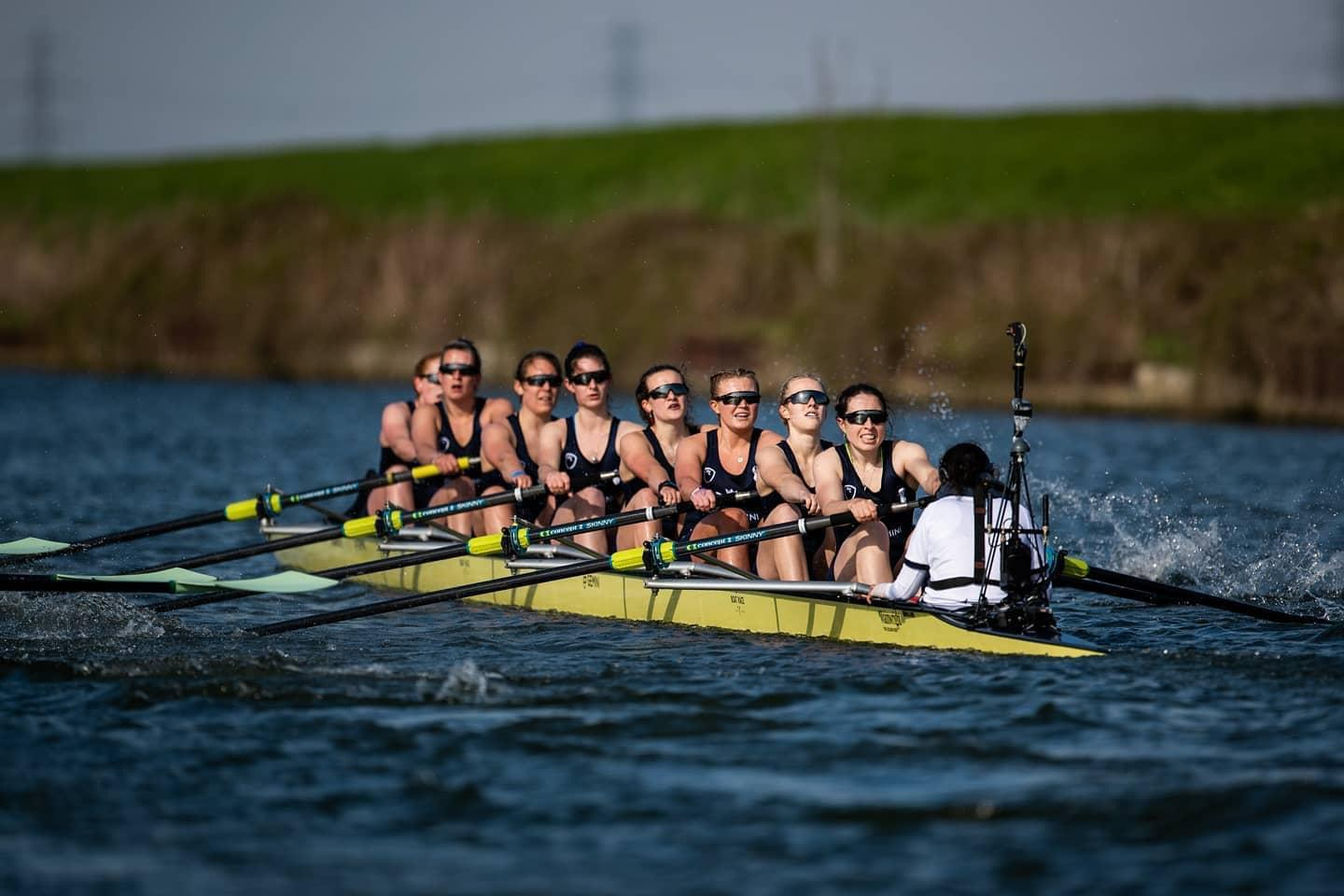 Pictured above: Megan Stoker, racing in the Women's Boat Race (Oxford v Cambridge) - photography credits: Lucinda Douse/Row360