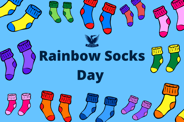 SES Rainbow Socks Day to celebrate IDAHOBIT