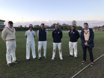 Cricket is the name of the game for Staff