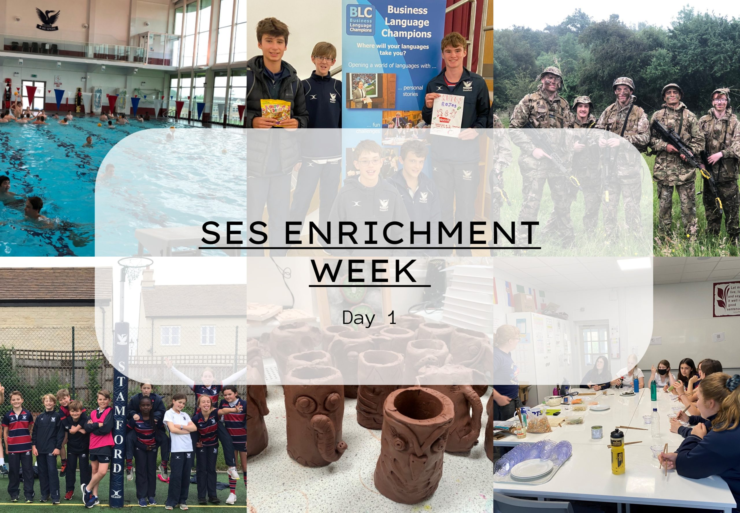 Enrichment Week starts with a bang!