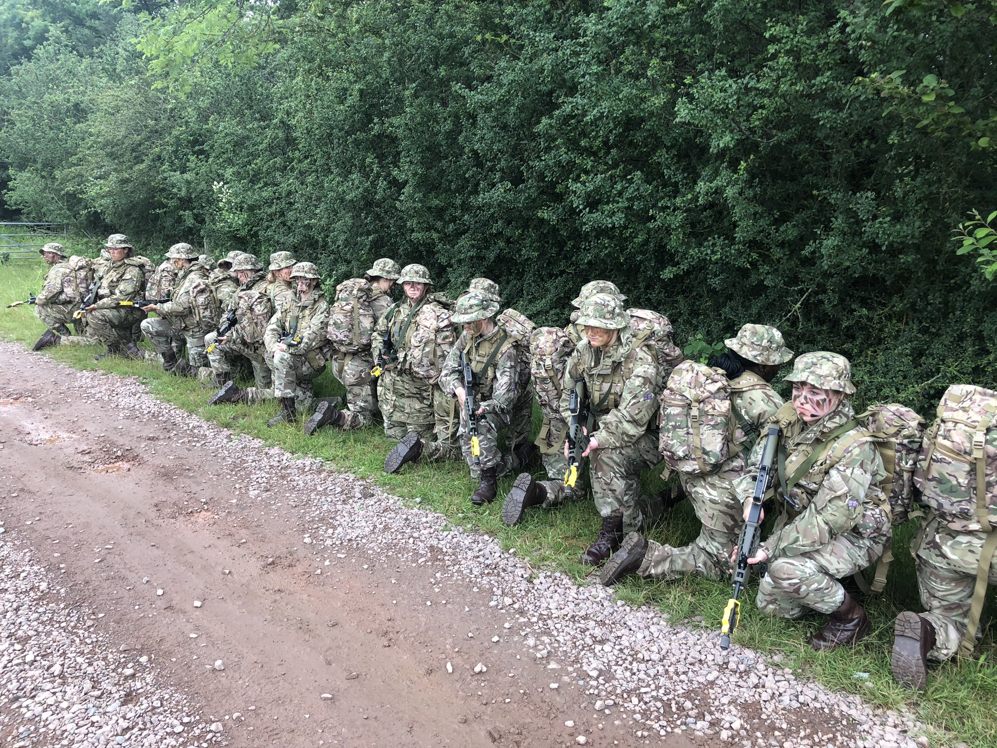 CCF Army Section