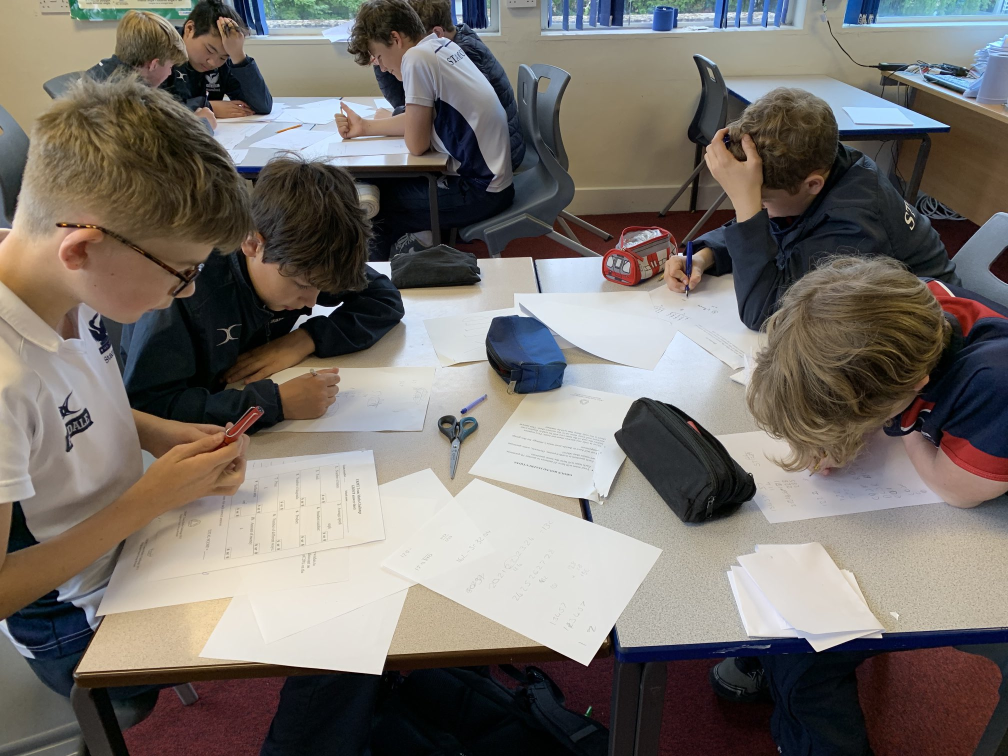 Exeter maths challenge