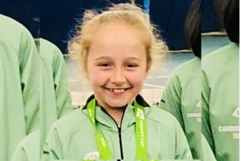 Isabella wins gold for Cambridgeshire