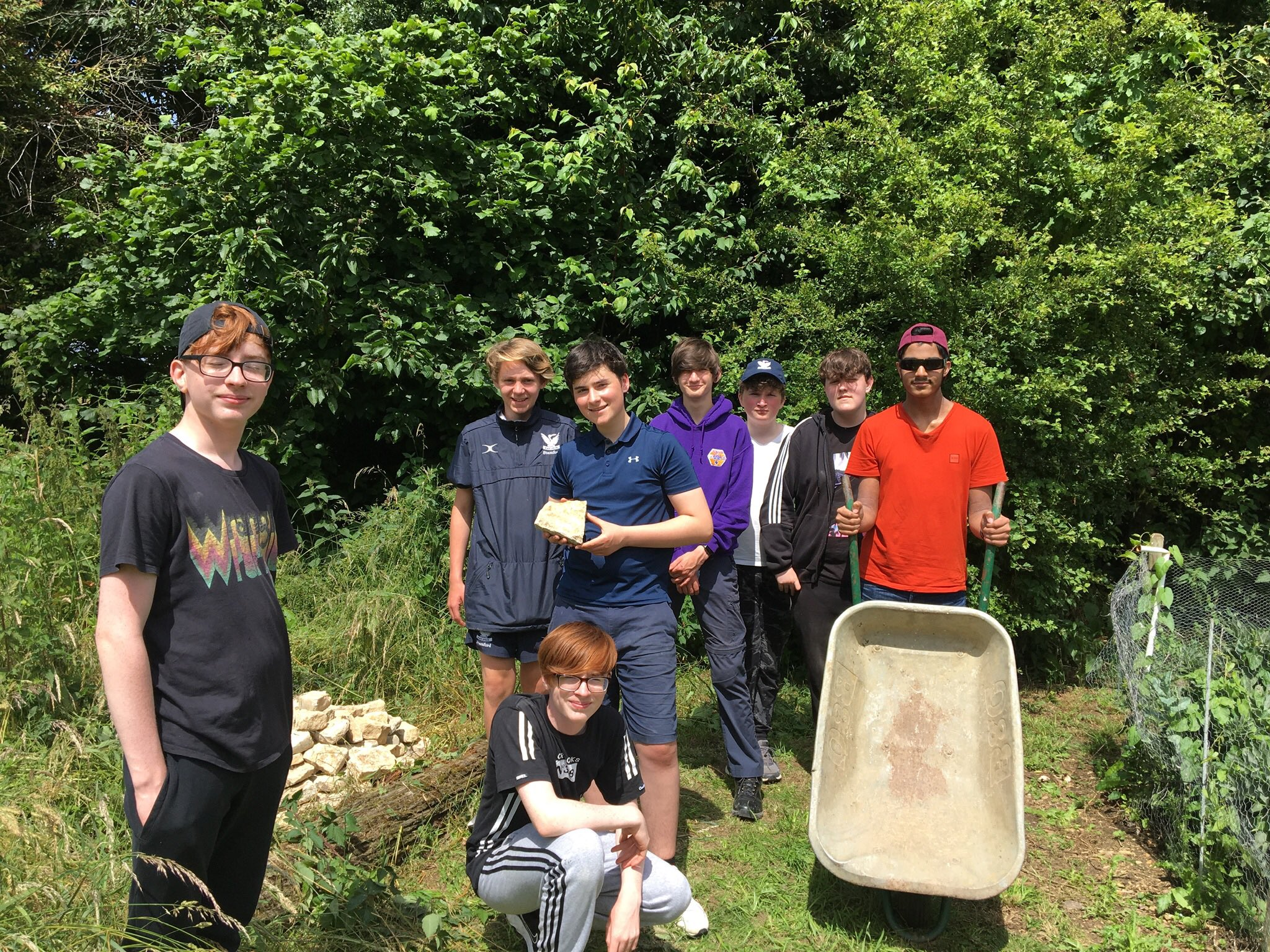 Volunteering at the Countryside Trust