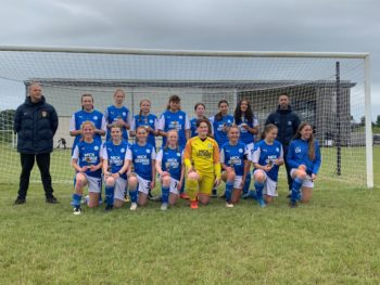 Phoebe's team wins the League Cup