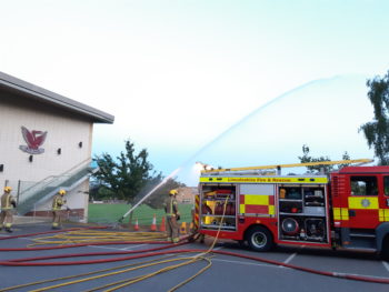 Firefighters train at Stamford