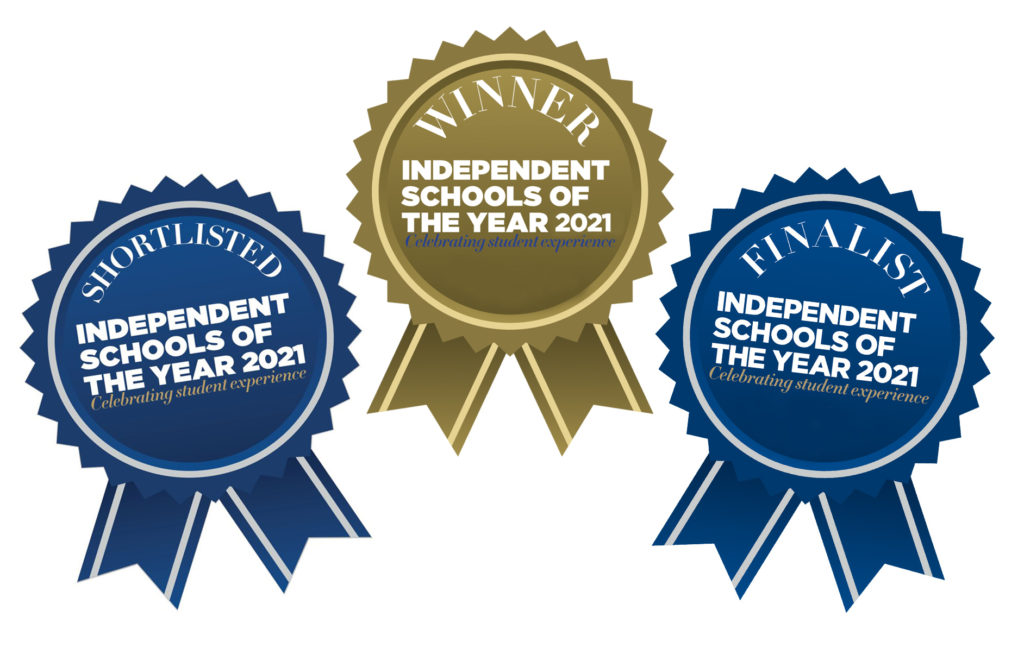 Rosettes for Independent Schools of the Year awards 2021