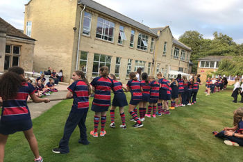 House Games with Year 7 at SHS